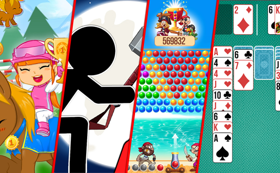 Simply publish our games with ads on your website. It's free !