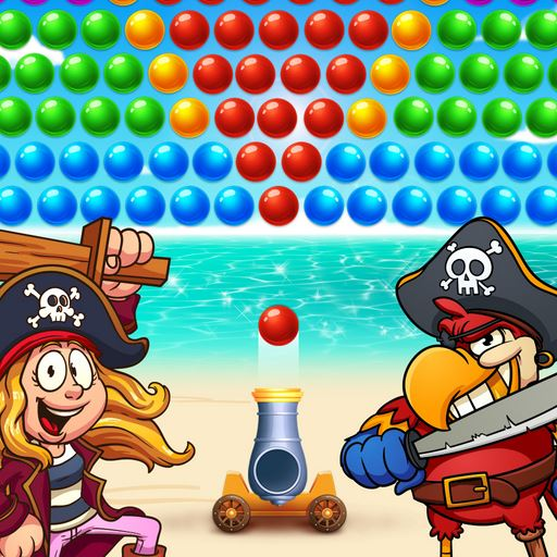 Icon for the game Bubble Pirate Shooter