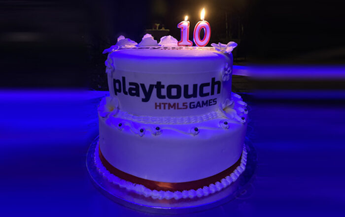 Playtouch Birthday Cake