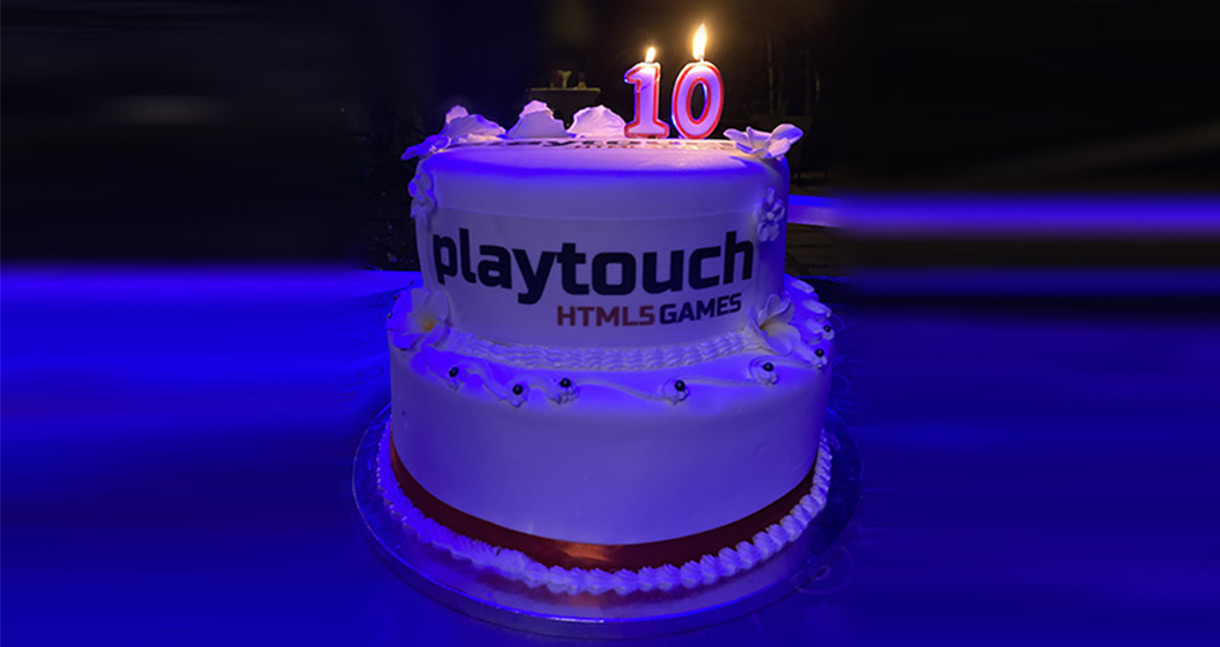 Playtouch Birthday Cake
